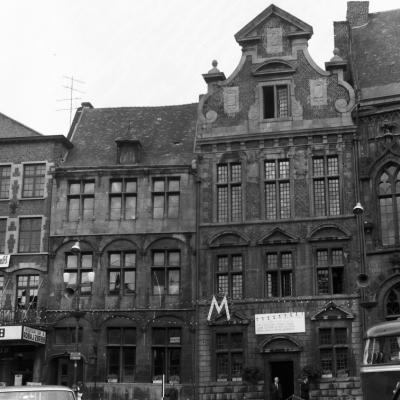 Place de MONS 17 JUIN 1967