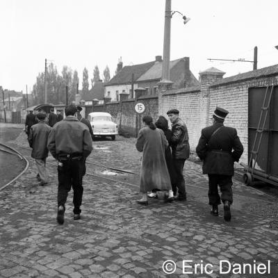 Crime à l'hotel de la gare Jemappes  1958