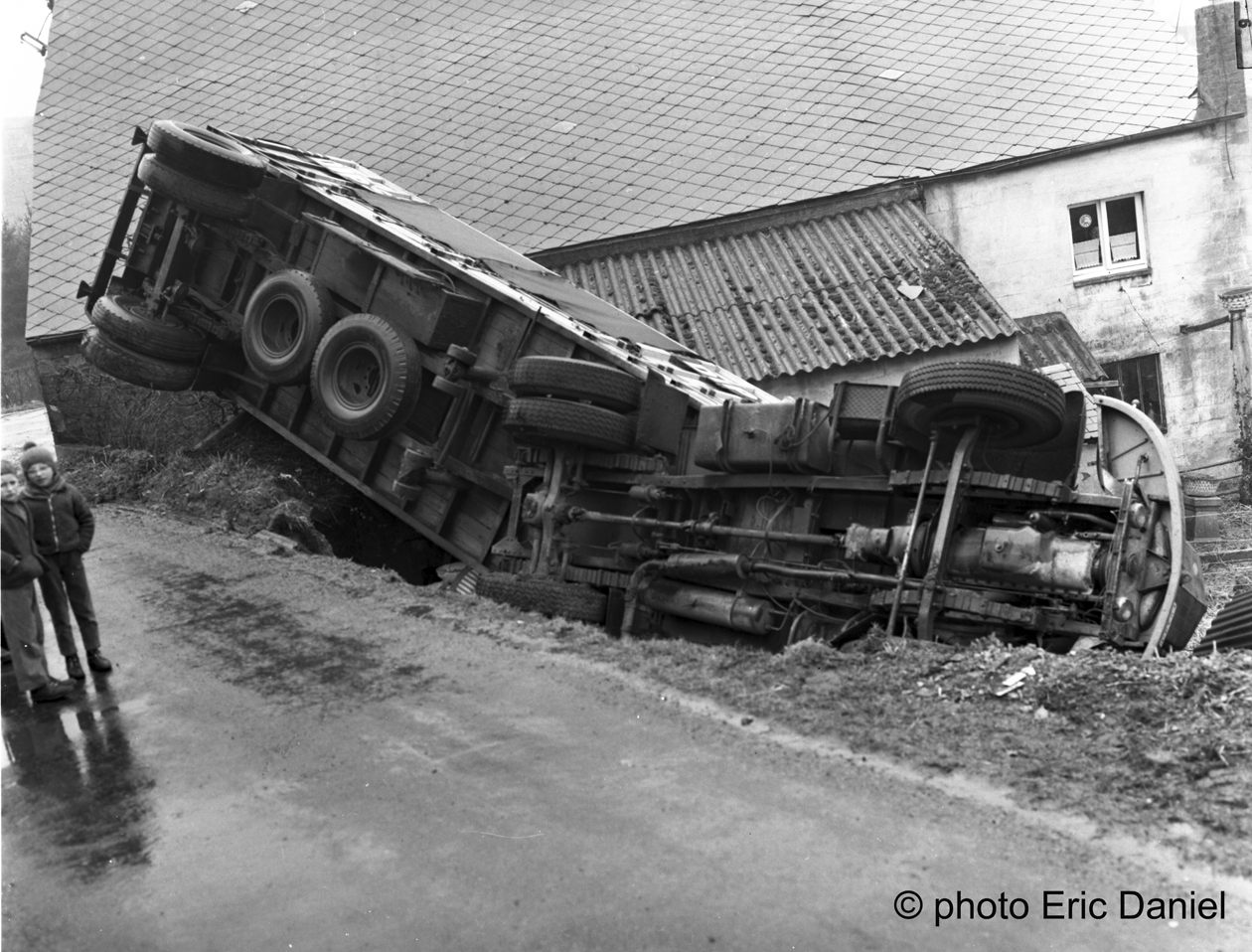 ACCIDENT CAMION © photo Eric Daniel